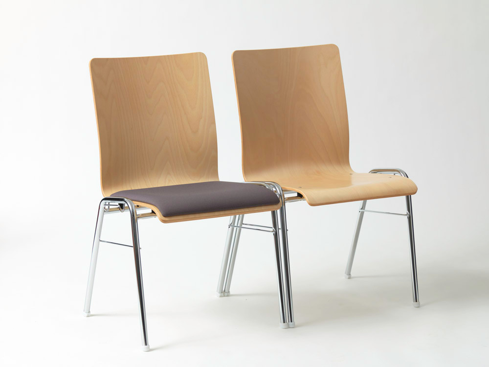 Stapelst hle shop heinz scheurer objekteinrichtungen for Stuhl stahlrohr