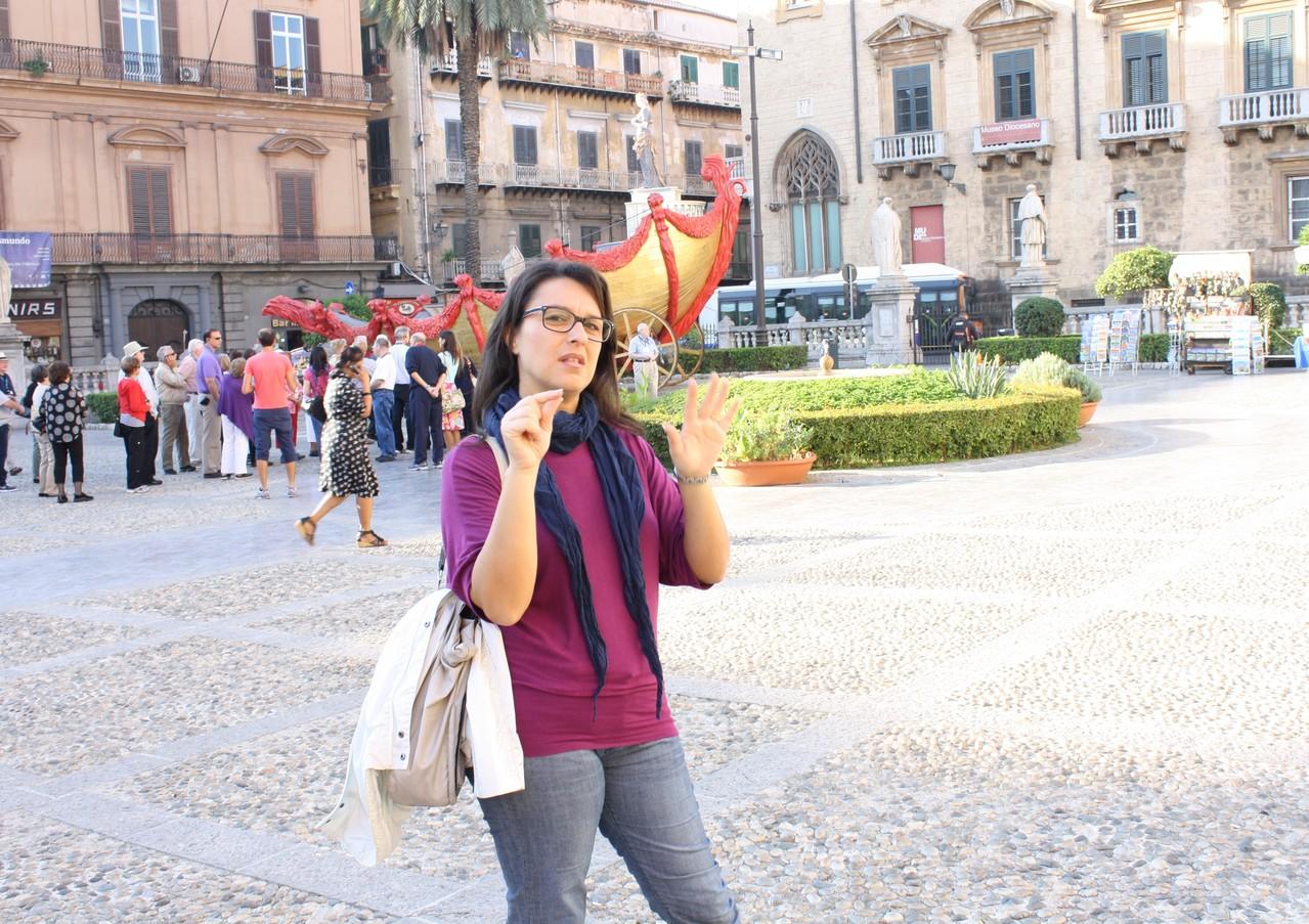 26 ottobre 2013 - Chiesa Cattedrale - Palermo - alunna Giusi