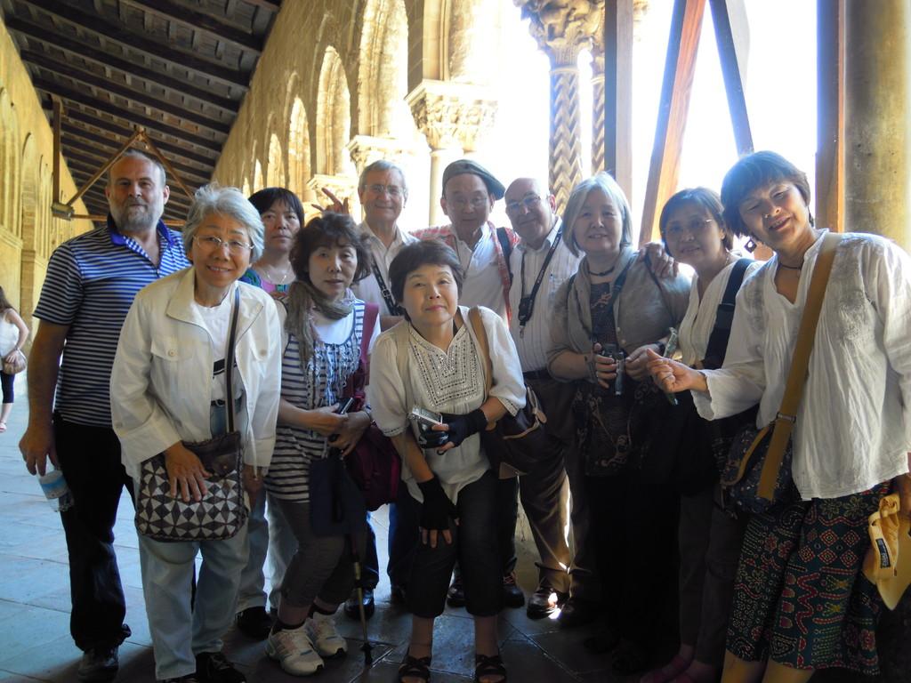 Chiostro del Duomo di Monreale (Palermo)