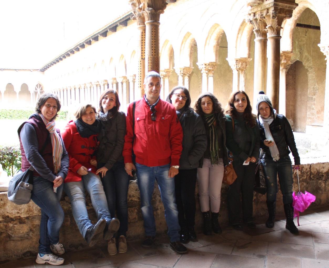 13 novembre 2013 - Chiostro del Duomo di Monreale (PA)