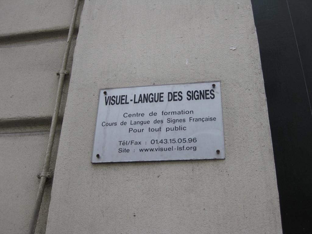 Visuel - Langue de Des Francaise (D.S.F.)