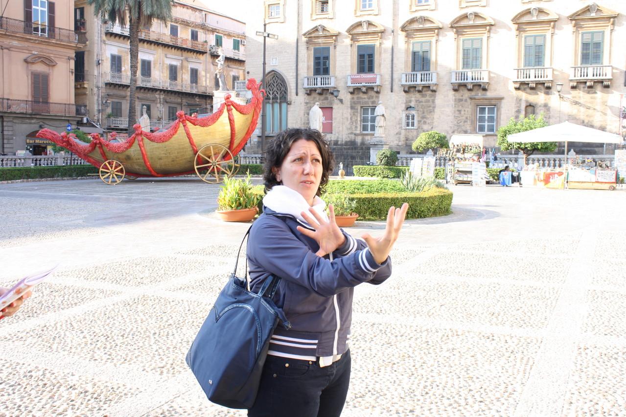 26 ottobre 2013 - Chiesa Cattedrale - Palermo - alunna Claudia Nicolina