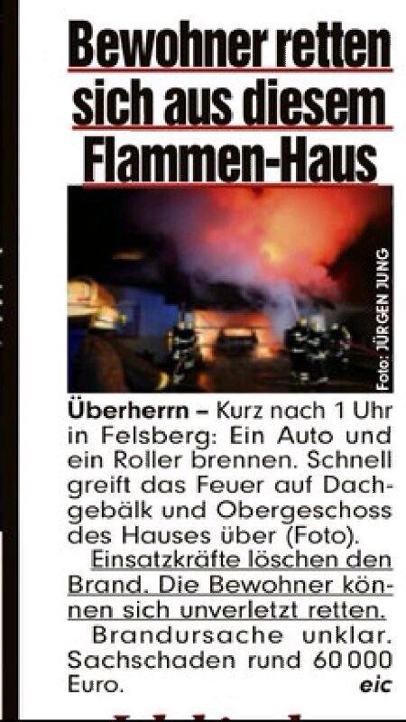 Bericht der Bild-Zeitung