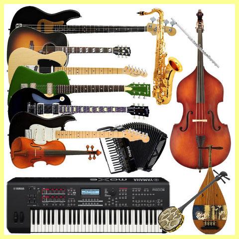 楽器 エフェクター ギター ベース サックス トランペット 電子ピアノ