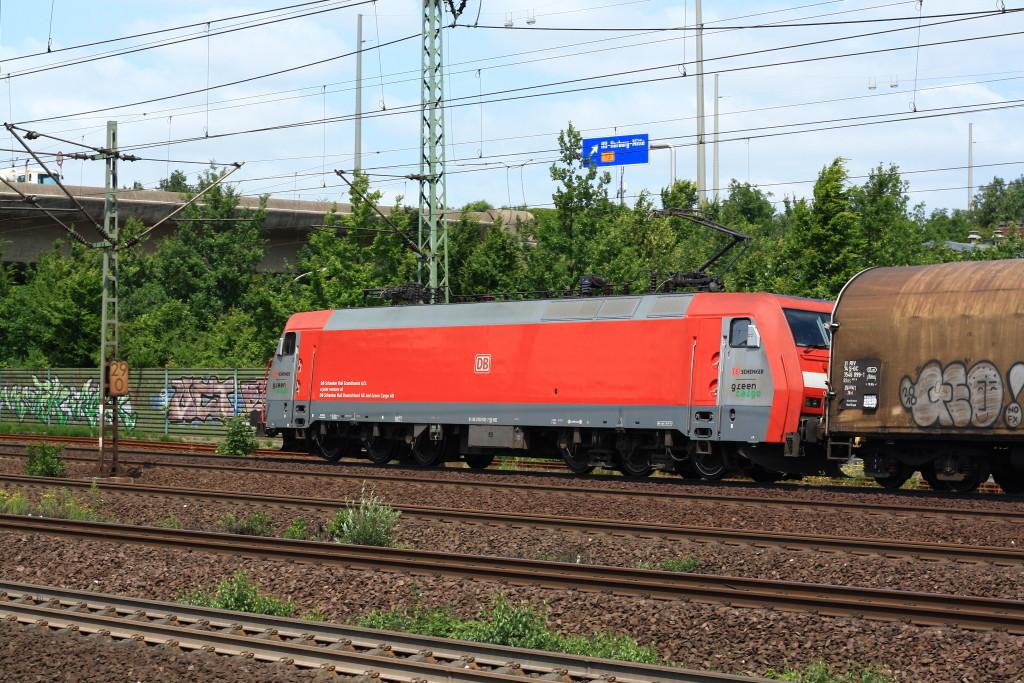 EG 3102 mit einem Gz Richtung Nordeuropa