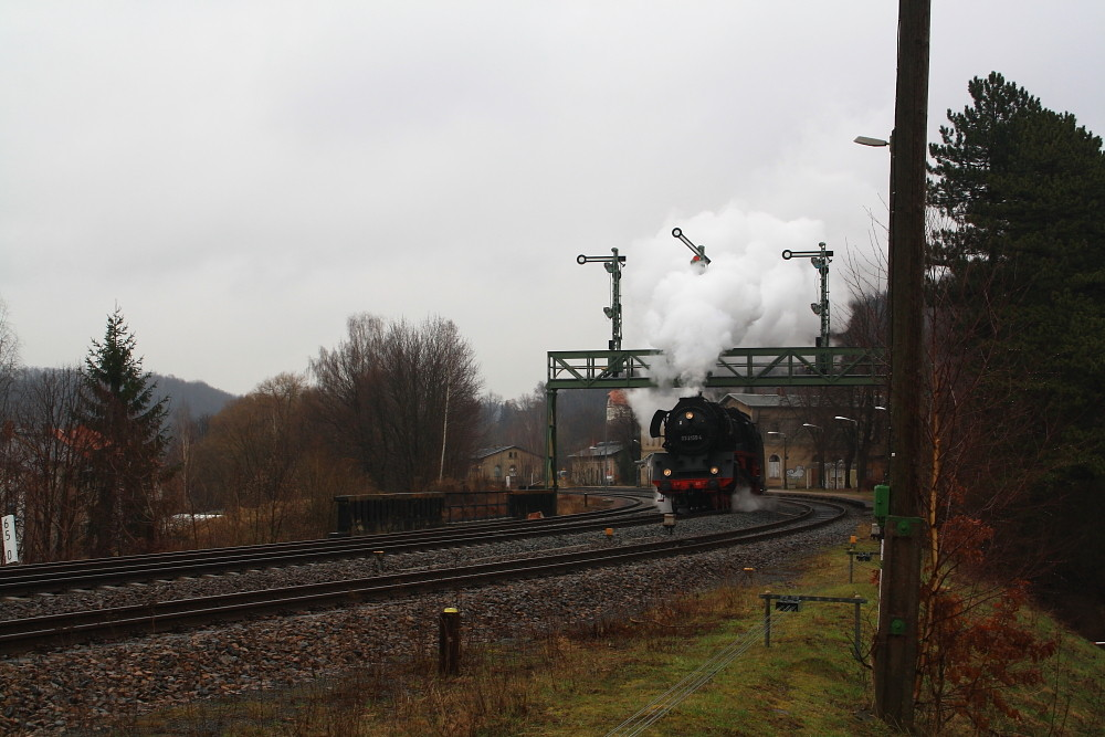 03 2155 auf der Fahrt nach Weimar in Roßwein