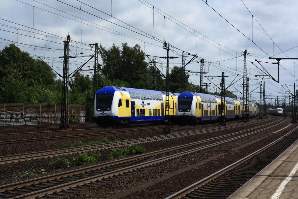 Metronom Parallelfahrt