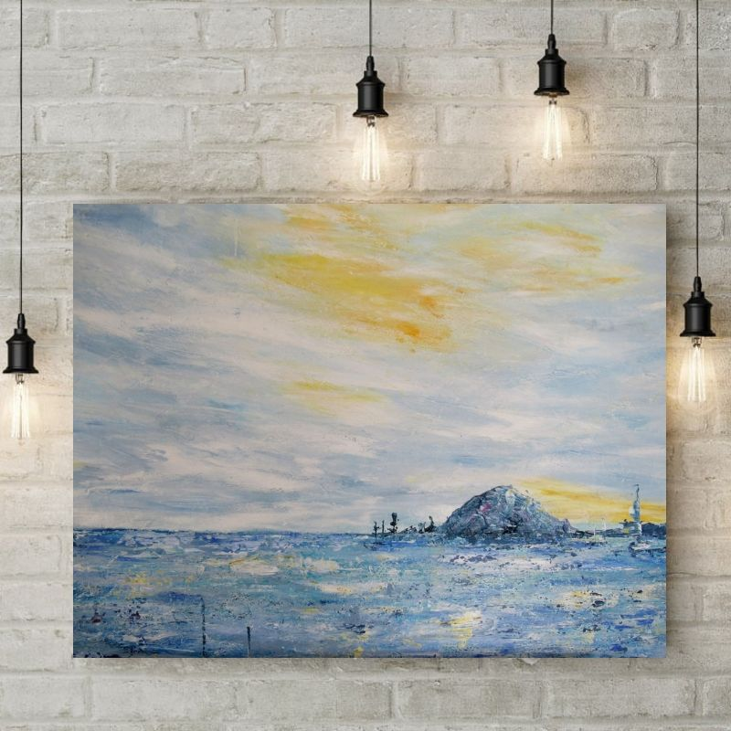 tableau-abstrait-bleu-jaune-paysage-marin-mer-ocean-peinture-abstraite-art-moderne-decoration-tendance