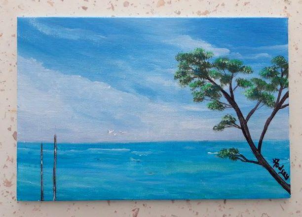 tableau-paysage-marin-audrey-chal-royan-charente-maritime-peinture-marine-plage-mer-peinture-acrylique