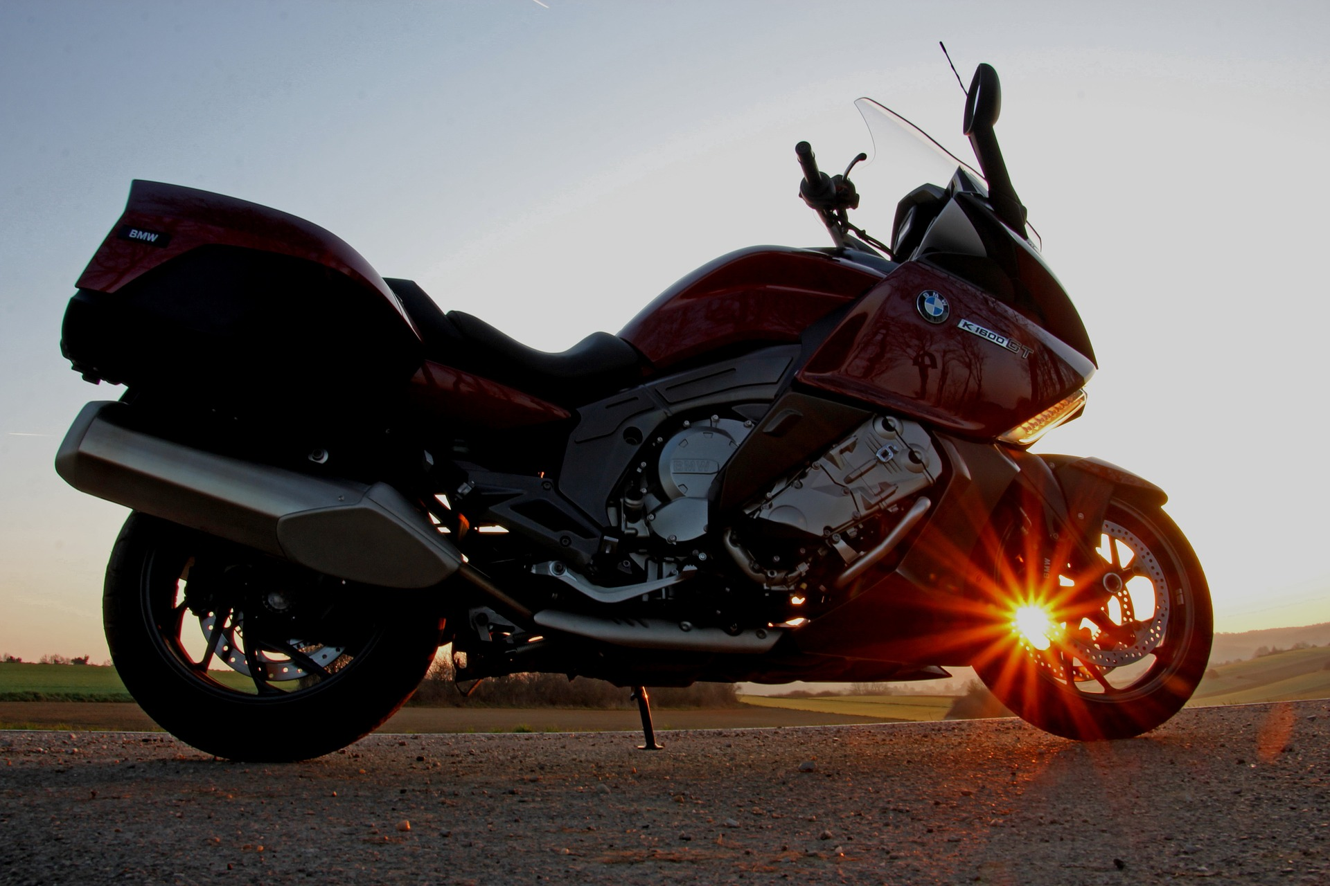 Motorradfahren auf den kurvigsten Strecken des Pfälzerwaldes