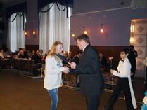 Нагороду отримує Бобкова Аліна