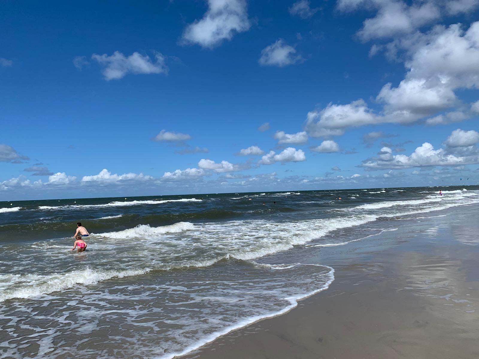 Nordseewellen am Strand von SPO