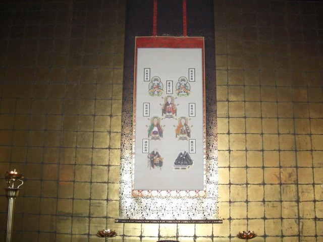 左余間・七高僧像