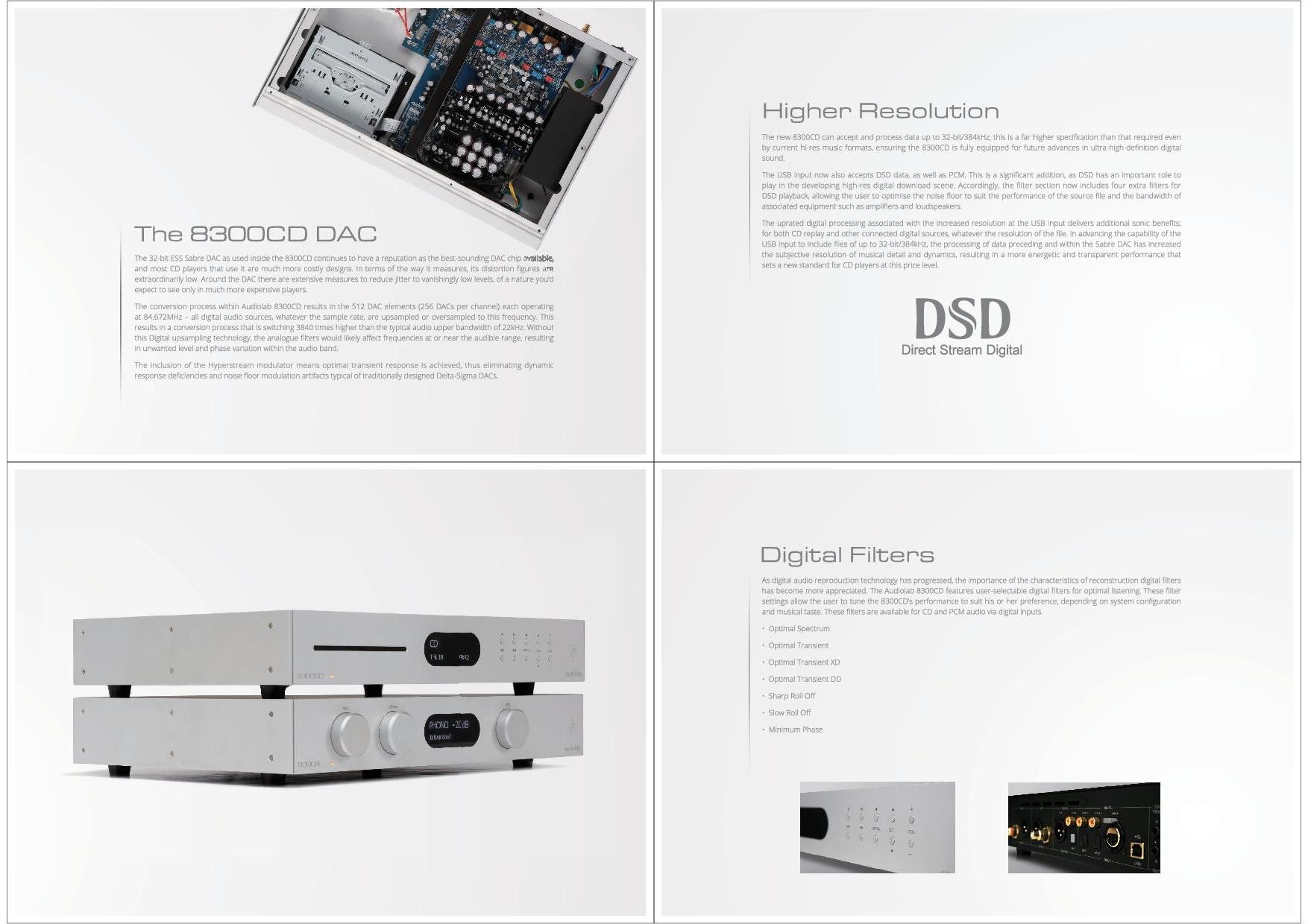 Audiolab Katalog S. 5+6