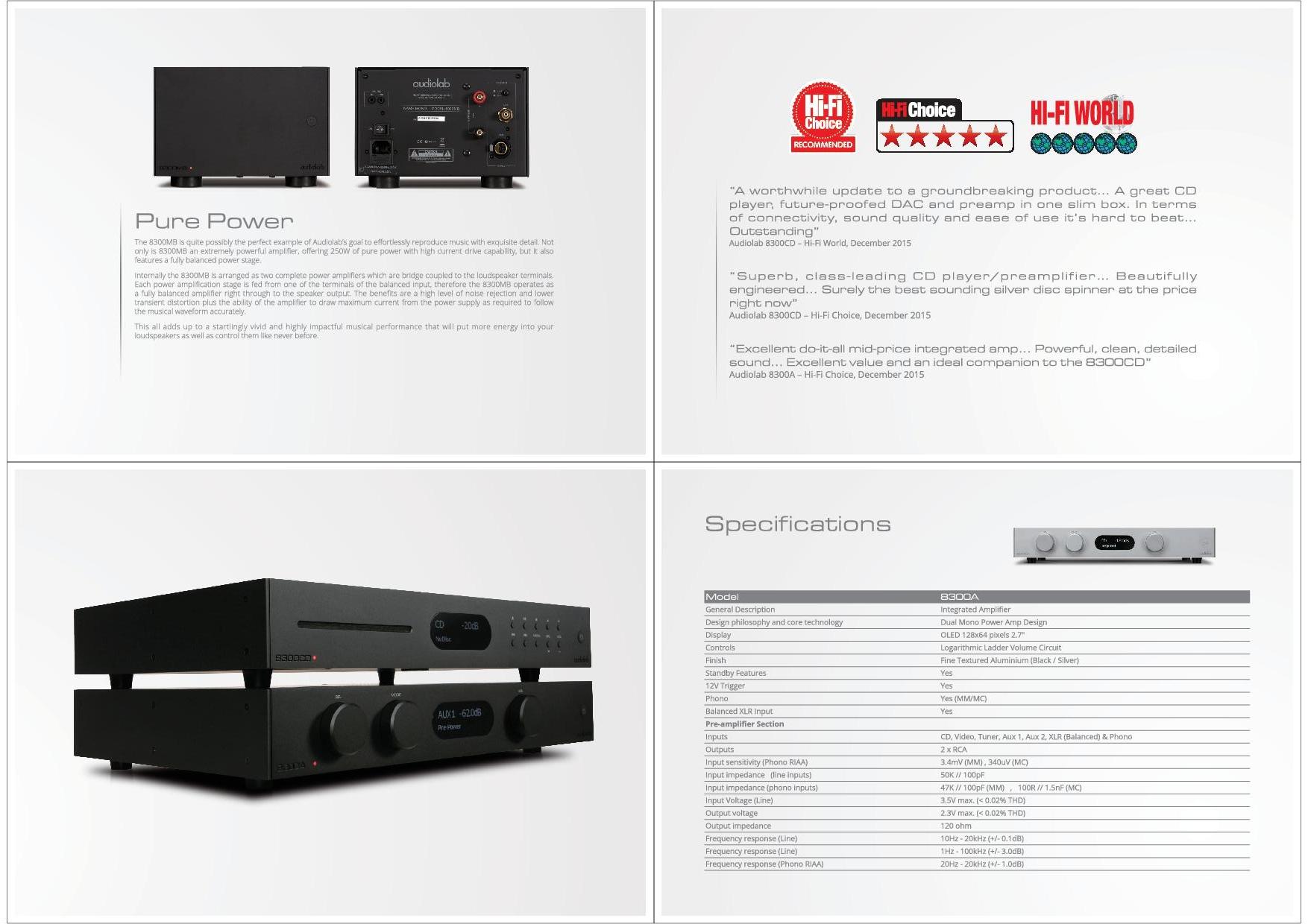 Audiolab Katalog S. 11+12