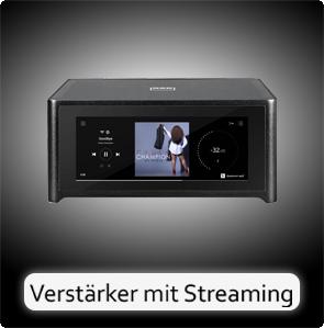 Verstärker mit Streamer