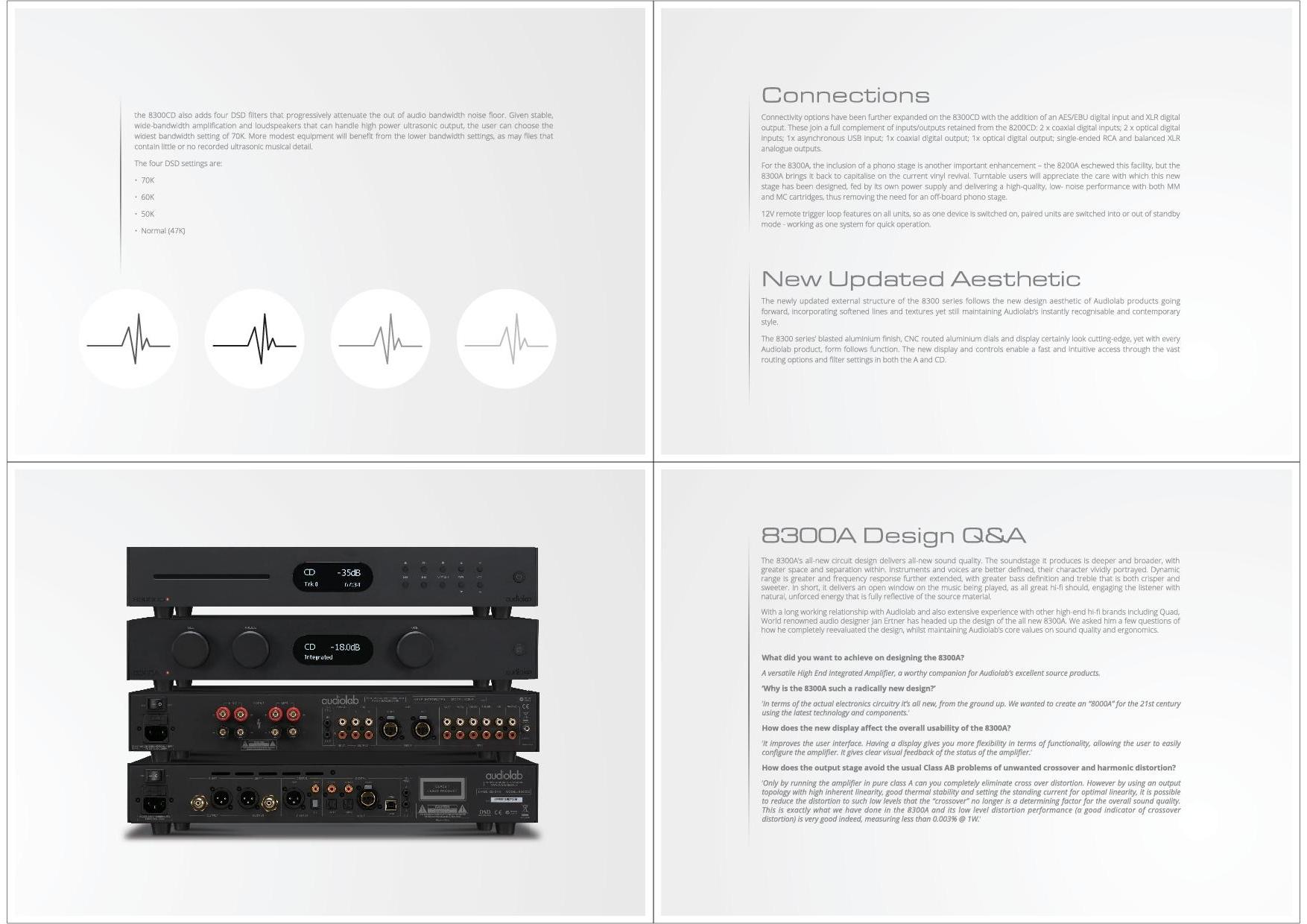 Audiolab Katalog S. 7+8