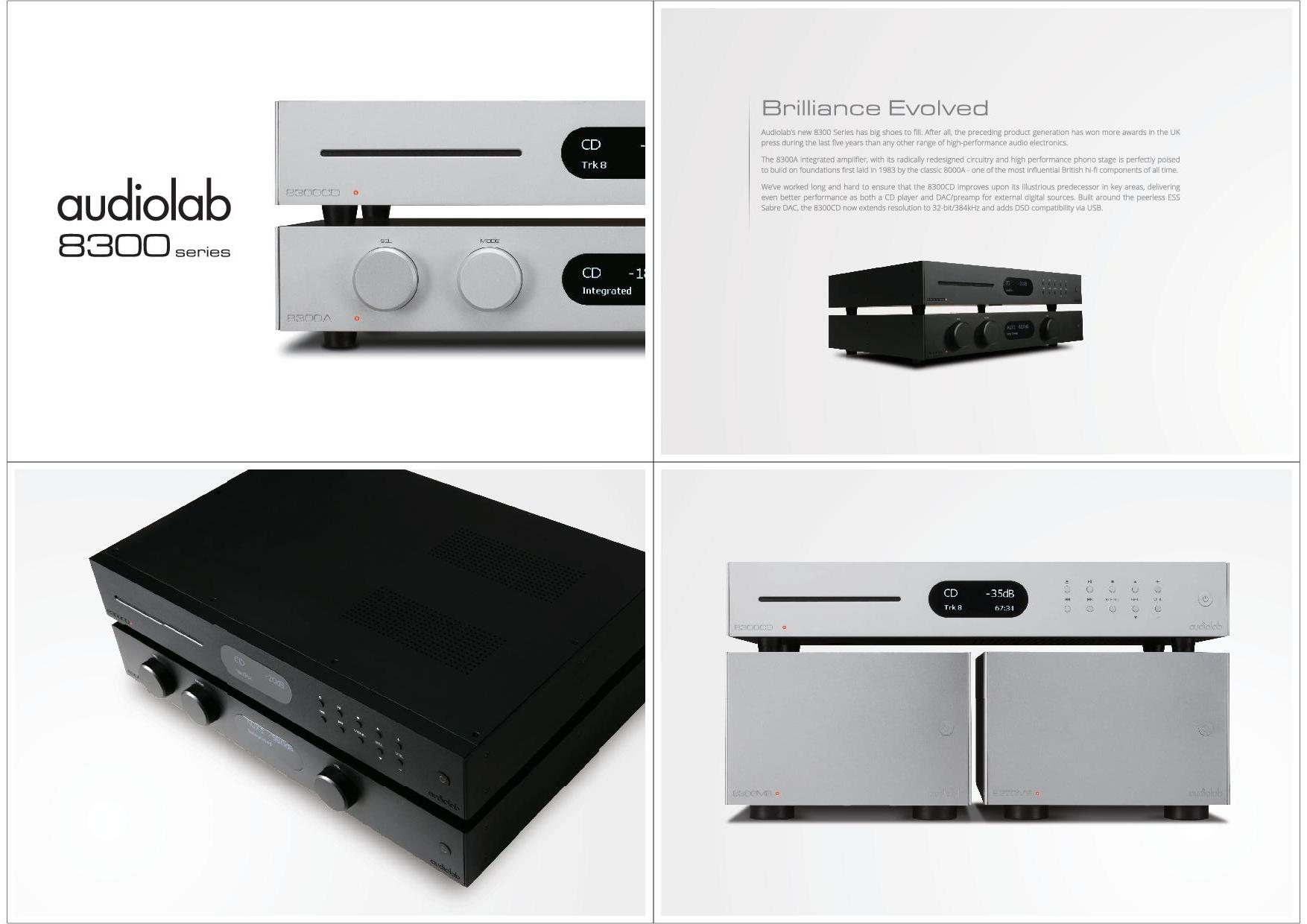Audiolab Katalog S. 1+2