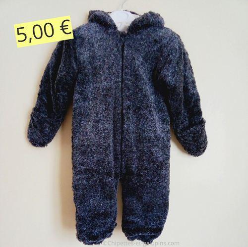 vêtements d'occasion pour bébé garçon. combi-pilote pas cher garçon 12 mois