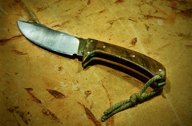 Le couteau du client