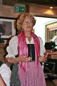 Bürgermeisterin Leni Grobmaier