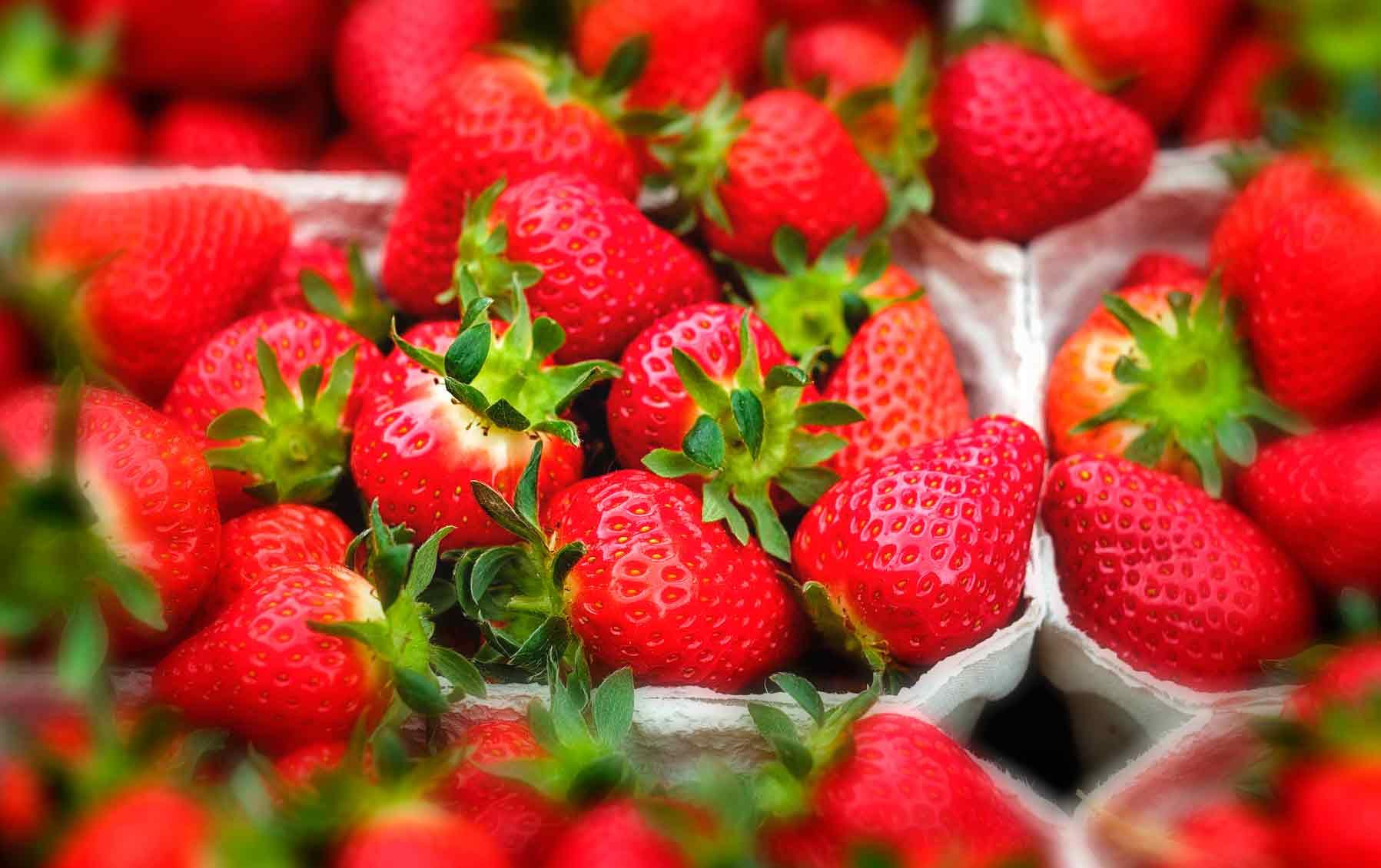 Demeter-Erdbeeren