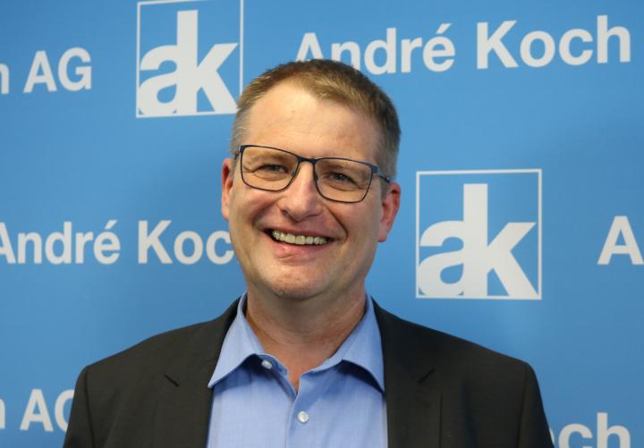 Volker Wistorf, l'ex-manager d'Axalta, est le nouveau «Chef des technologies d'applications» chez André Koch AG.