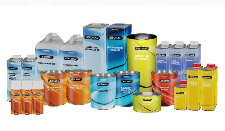 Die neuen farbcodierten Produktetiketten von Lesonal.