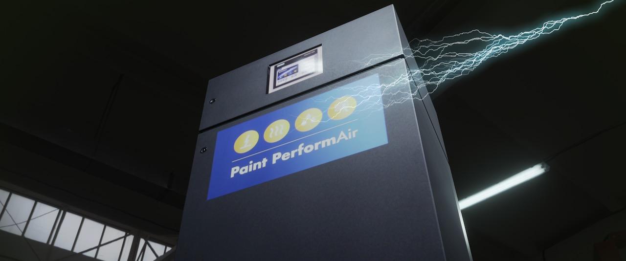 Bringt die Automatisierung in die Lackierkabine: Paint PerformAir von Lesonal/AkzoNobel