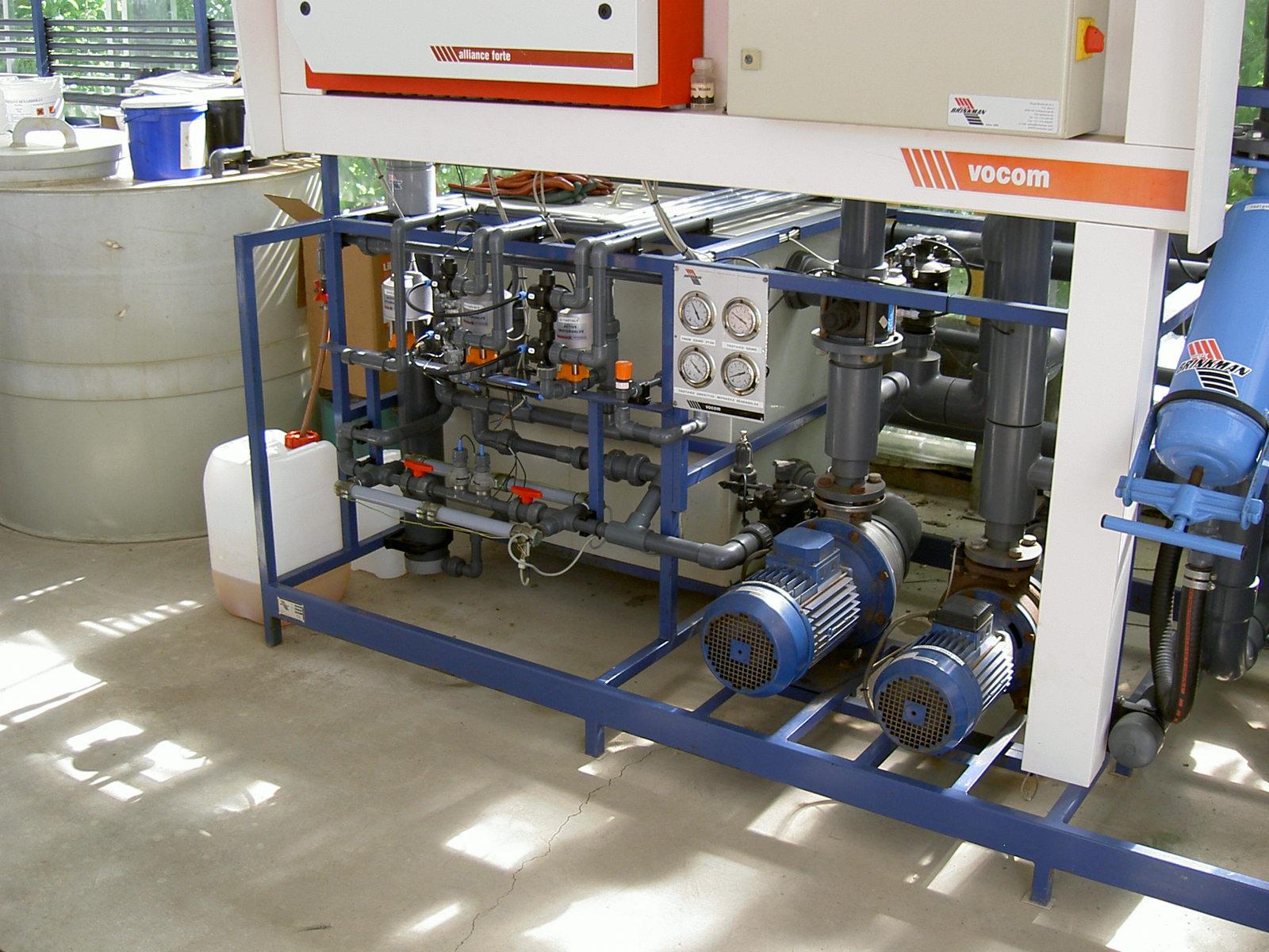 KE-plant wird über eine Dosierpumpe in das Bewässerungssystem eingebracht.