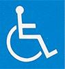障害者が利用できる建物、施設であることを明確に表すための世界共通のシンボルマーク