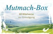 Mutmach-Box mit 62 Bibelverskärtchen - zur Ermutigung