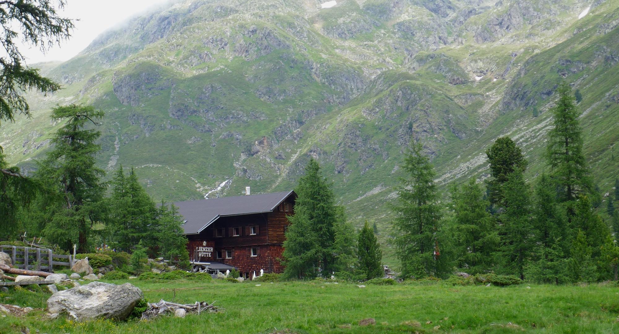 Lienzer Hütte erreicht