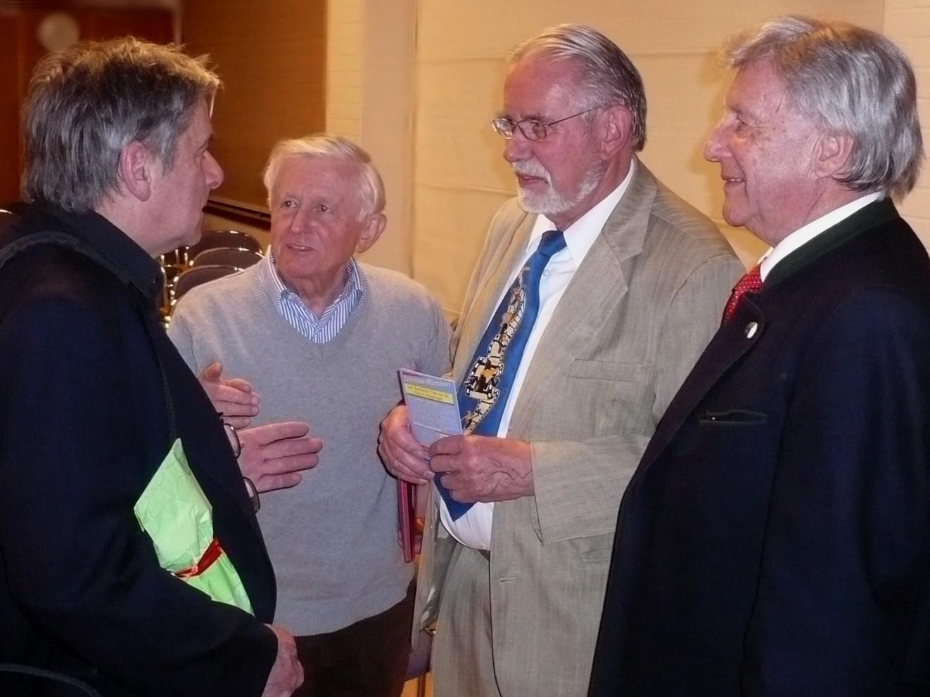 Klaus Bichlmeier, Roman Lanz, Dieter Brebeck, Klaus Häusler