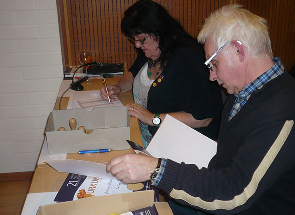 Barbara Bernauer & Klaus Fleischmann, LFVB