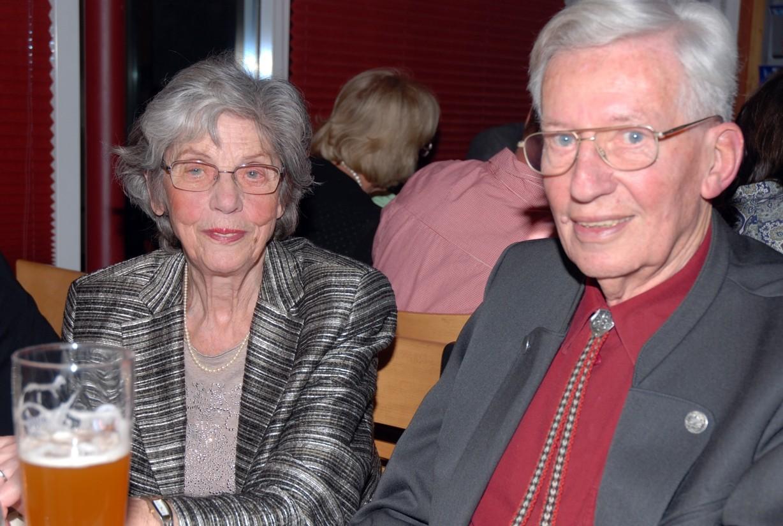 Günter Pickel, hier mit Frau Lilly filmt nicht mehr, kommt aber gerne noch in den Club.