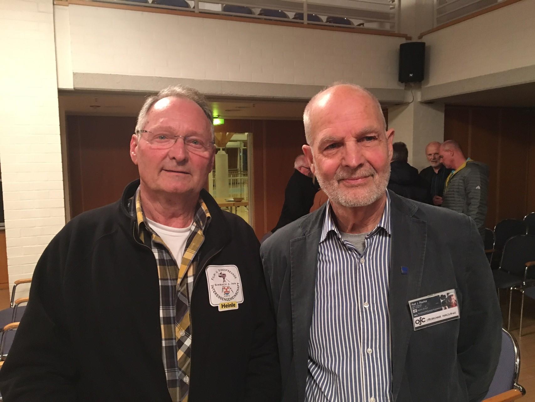 Heinz Heinle, Filmclubleiter in Simbach, war früher Mitglied des OFC
