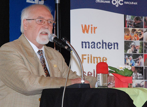 Reiner Urban, Präsident des Landesverbands Film& Video Bayern