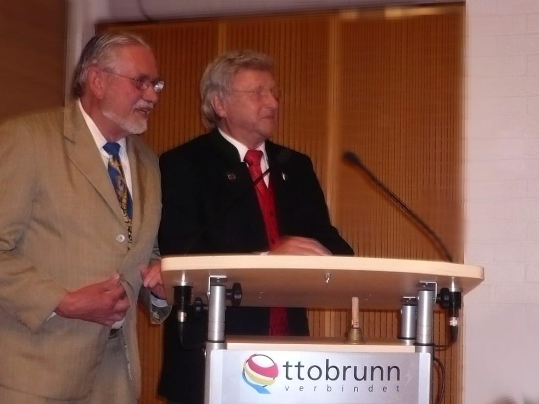 Dieter Brebeck und Klaus Häusler