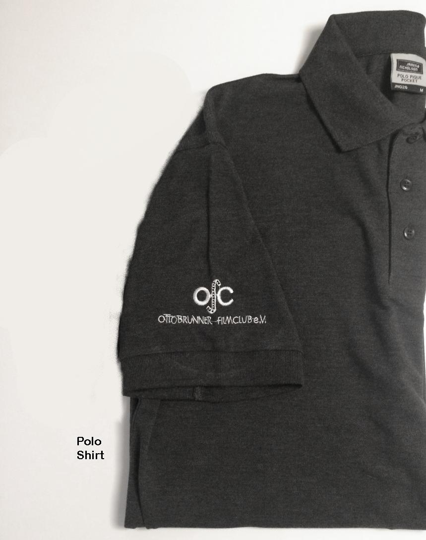 Polo shirt mit OfC Logo (2) am rechten Ärmel