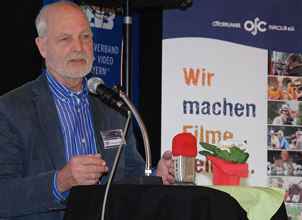Rolf Rachor, 1. Vorsitzender Ottobrunner Filmclub