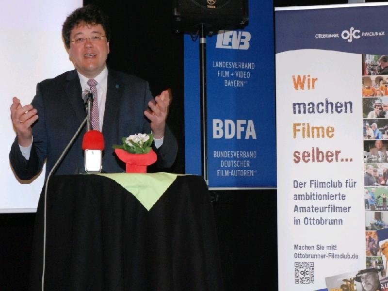 Schirmherr Thomas Loderer, Erster Bürgermeister von Ottobrunn
