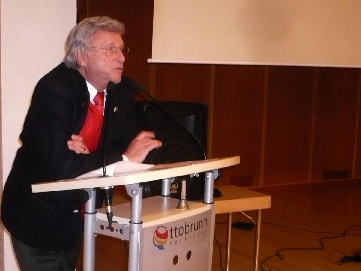 Klaus Häusler, unser Moderator