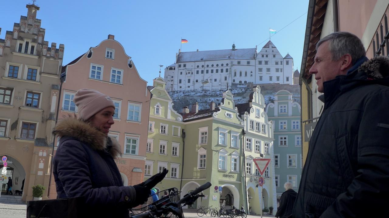Landshut mit Schloss