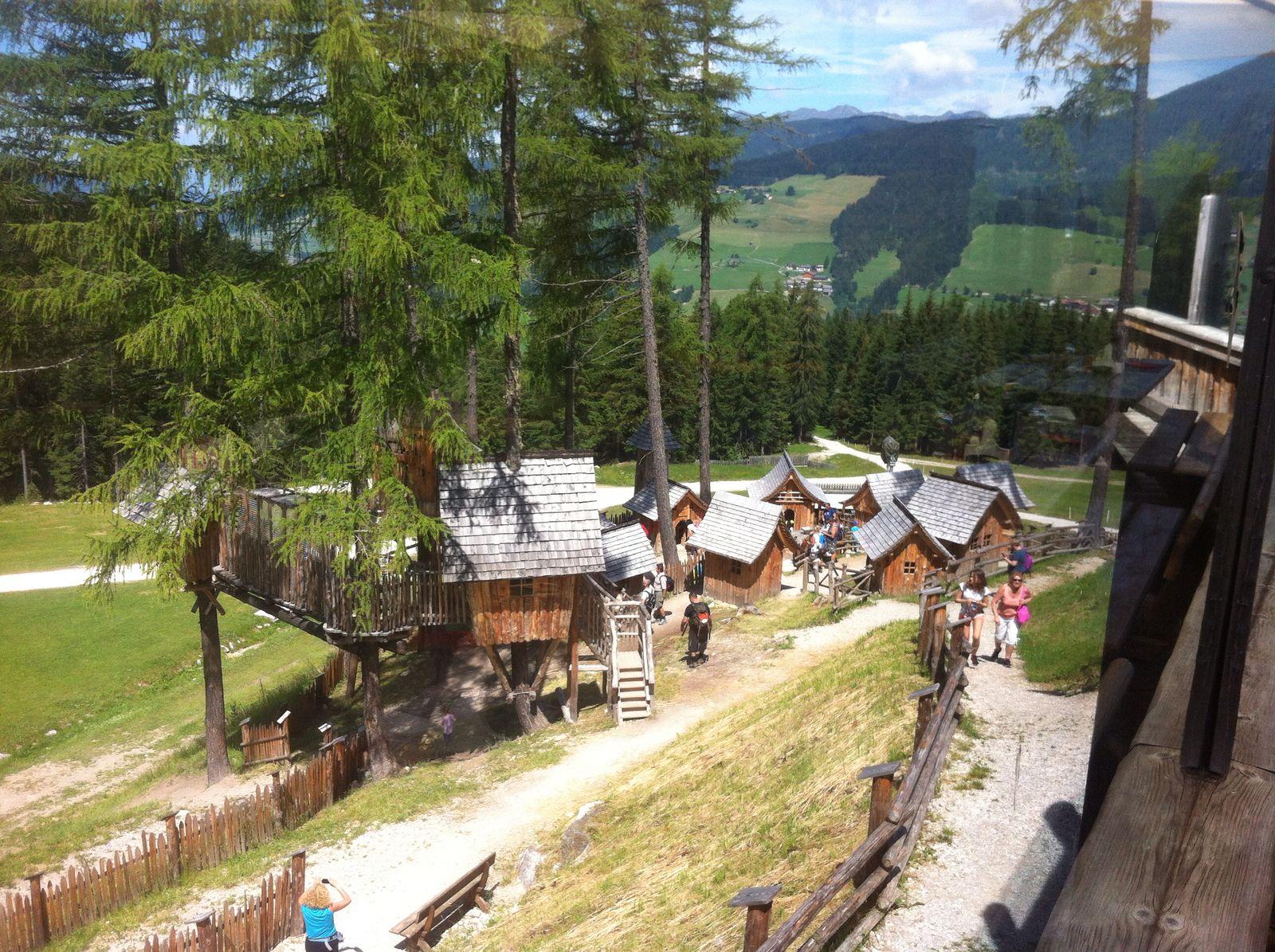 Zwergendorf an der Haunoldhütte