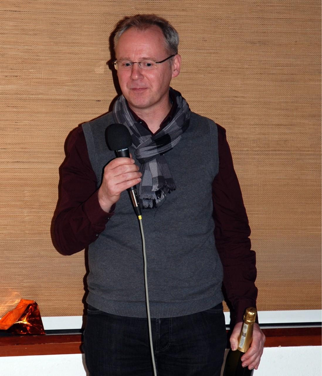 """und Michael Gropp, Bad Endorf mit seinem Film """"Transalp"""""""