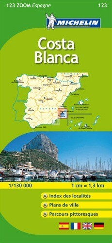 Carte Michelin Zoom Espagne.Cartographie Michelin Zoom Espagne Road Books Vibraction