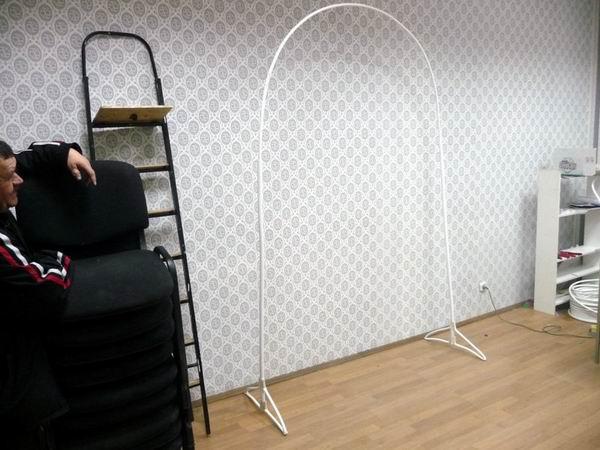 Каркас из металлопластиковой трубы для арки из воздушных шаров
