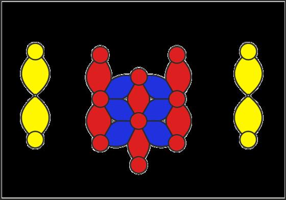 Сердце-декорация из LINK-O-LOON, плотная вязка - инструкция схема
