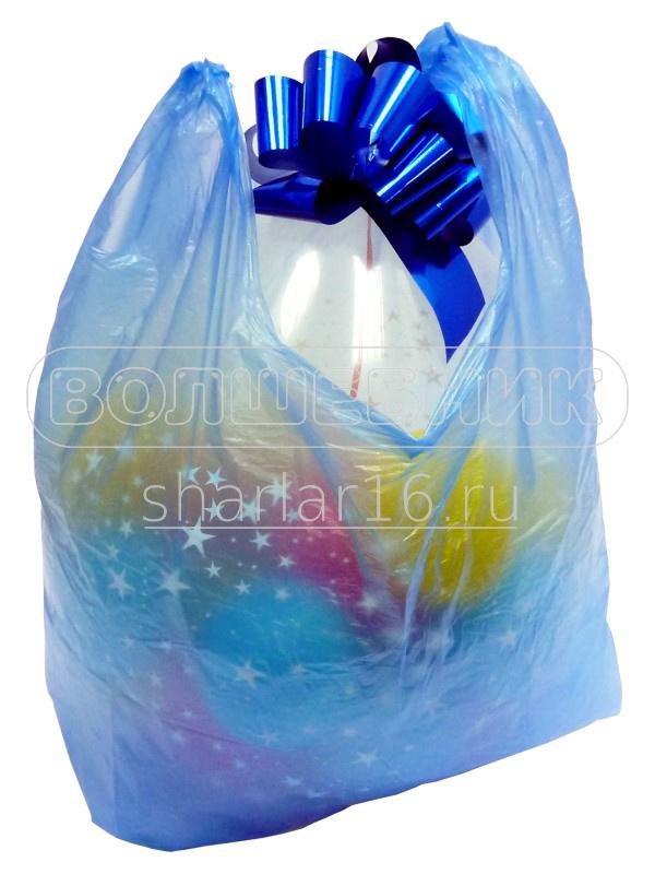 упаковка бутылки в воздушный шар упаковщик